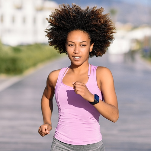 woman jogging - corelife wellness