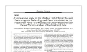 The Use of HIFEM Technology in the Treatment of Pelvic Floor Muscles as a Cause of Female Sexual Dysfunction: A Multi-Center Pilot Study
