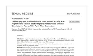 Electromyographic Evaluation of the Pelvic Muscles Activity After High-Intensity Focused Electromagnetic Procedure and Electrical Stimulation in Women With Pelvic Floor Dysfunction